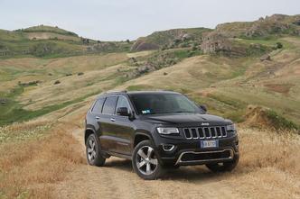 Jeep Grand Cherokee restylée : en avant-première, les photos de l'essai