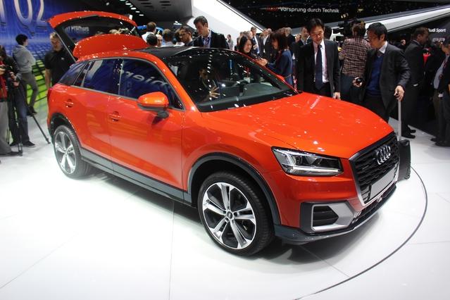 Audi Q2 : l'urbain - Vidéo en direct du salon de Genève 2016 + 1er Live