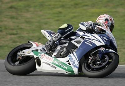 Moto GP: Jerez Test IRTA D.1: Melandri se mouille