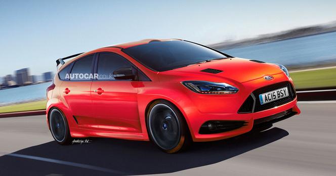 4 Roues Motrices >> La Future Ford Focus Rs Avec 4 Roues Motrices