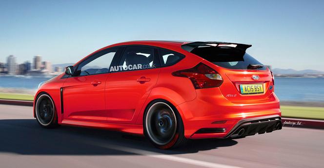 La future Ford Focus RS avec 4 roues motrices ?