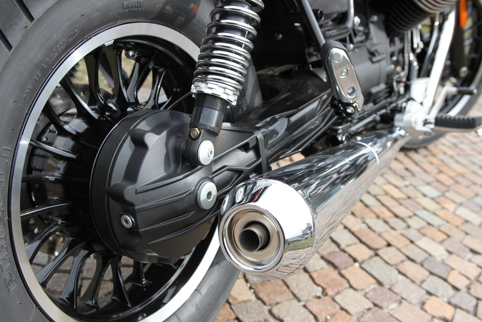 Essai Moto Guzzi V Roamer