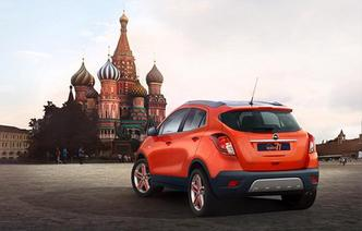 Moscou 2014 : Opel Mokka Moscow Edition