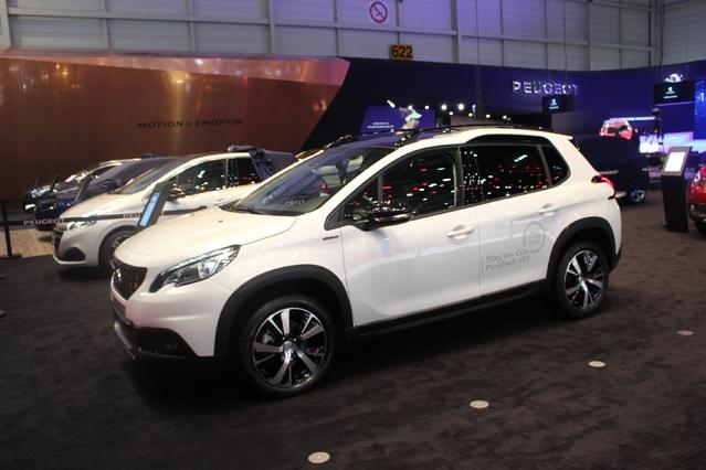 Peugeot 2008 restylée : plus typée - Vidéo en direct du salon de Genève 2016 + 1er Live