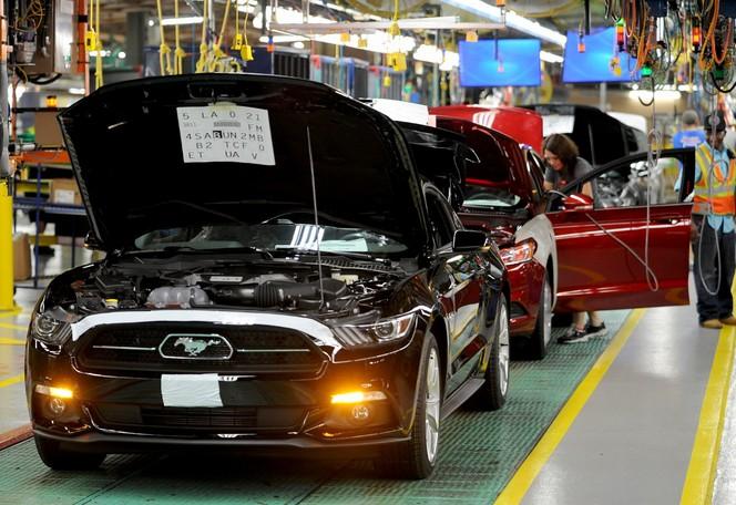 Début de production pour la nouvelle Ford Mustang