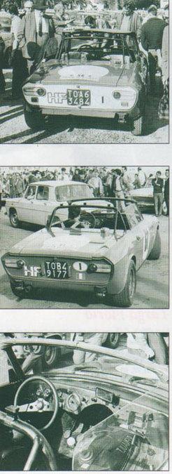 Découverte: Lancia Fulvia F&M Spécial 1969 .2