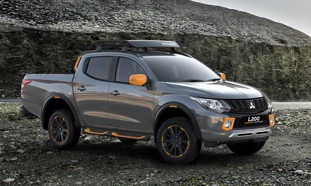 Salon de Genève 2016 - Mitsubishi ASX et L200 Geoseek : orange mécanique