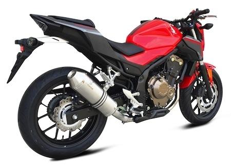 Ixrace: 2 pots pour la Honda CB500 F (2016)