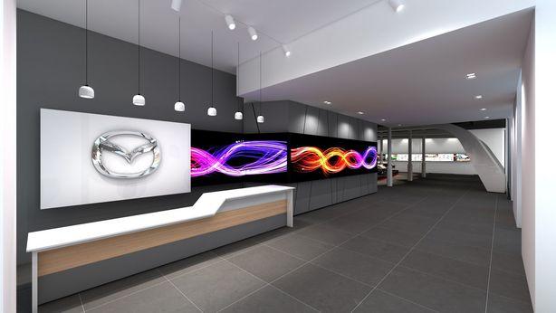 Le Mazda Space sera inauguré le 3 septembre 2014 à Barcelone