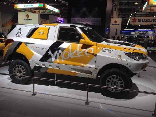 Salon de Moscou 2014 - Le Mokka Dakar présent sur le stand Opel