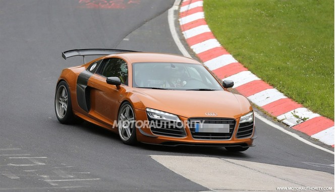 Surprise : une future Audi R8 GT