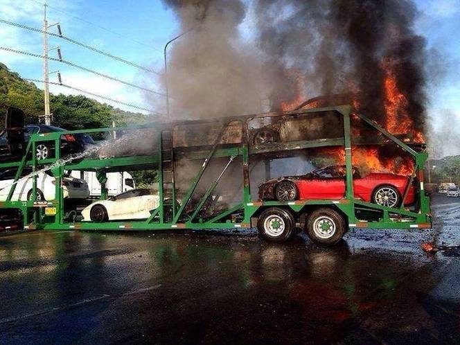 Incendie de voitures de luxe : mais qui est la coupable ?