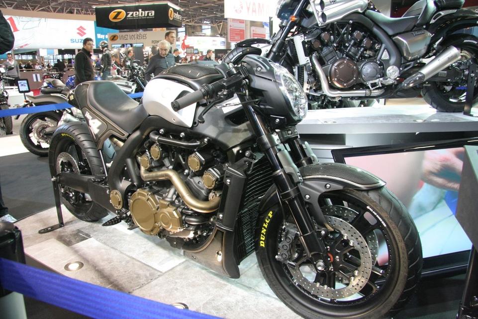 En direct du salon de la moto : 3 Vmax, 3 prépa', 3 univers [+ vidéo]