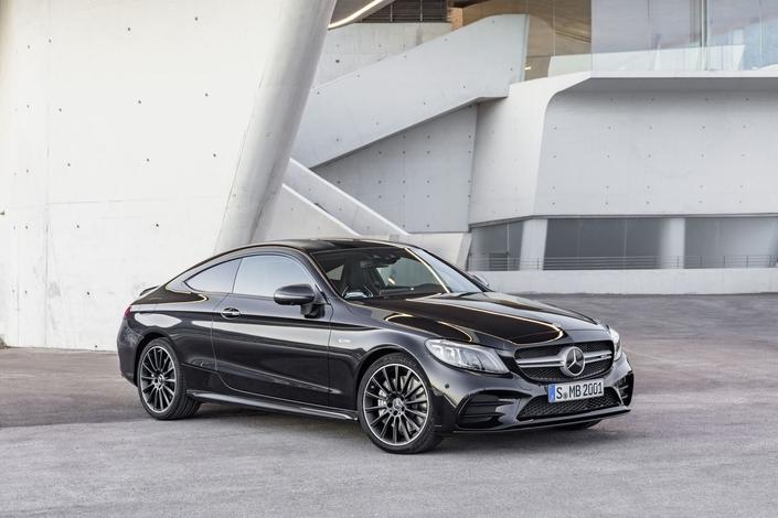 Mercedes Classe C Coupé et Cabriolet: voici la 43 AMG restylée