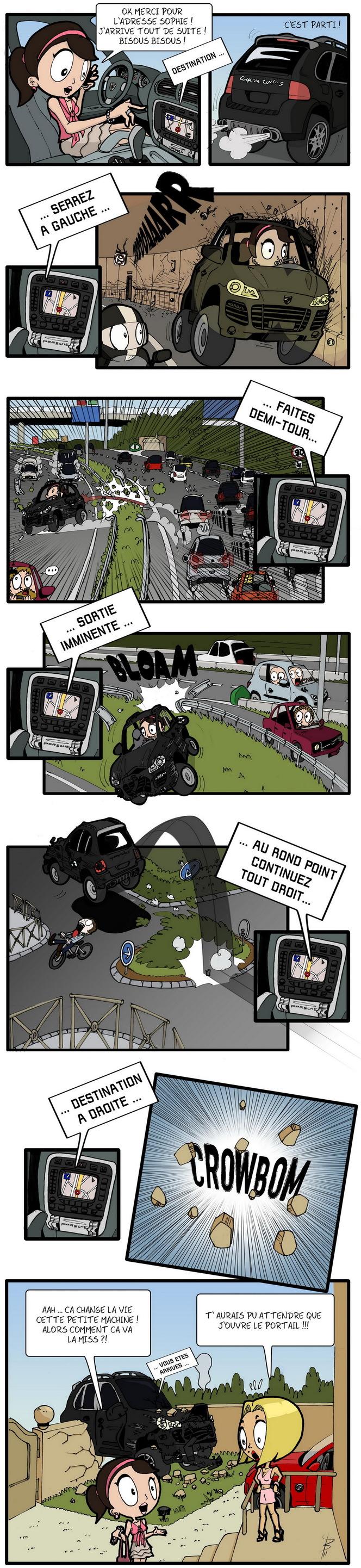 Rond-Poing, Episode 12: GPS, Générateur de Parcours... Spéciaux ?