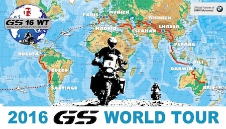 GS World Tour 2016: c'est parti