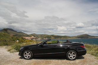 Mercedes Classe E cabriolet restylée : en avant-première, les photos de l'essai