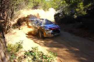 WRC Grèce - Qualifications : Ogier prend des risques pour partir dernier