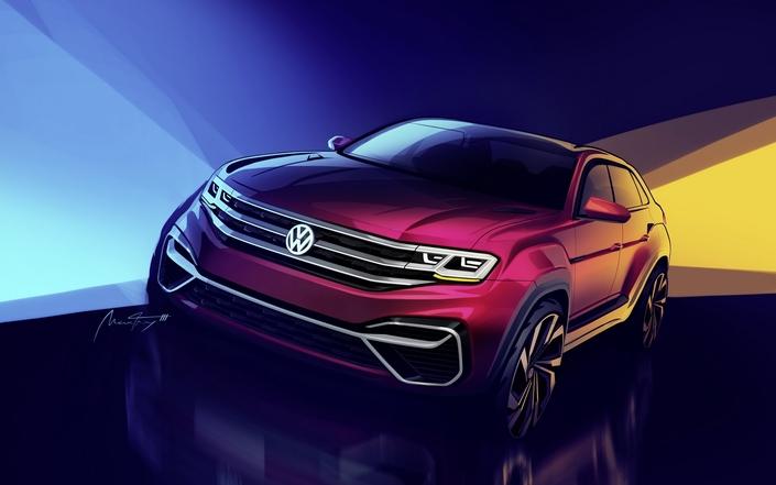 Volkswagen annonce un Atlas cinq places coupé