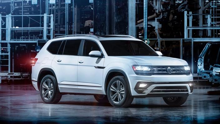 Le Volkswagen Atlas actuel