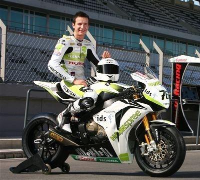 Superbike - Honda: Max Neukirchner n'a pas faibli aux tests de Valence