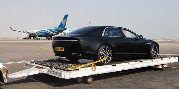 Future Lagonda: des images officielles d'un modèle de pré-production
