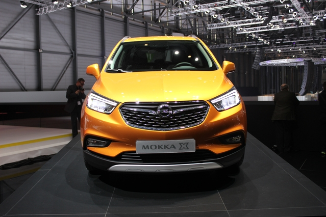 Opel Mokka X : virilisé - Vidéo en direct du salon de Genève 2016 + 1er Live
