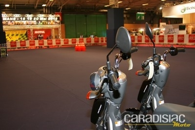 En direct du salon de la moto 2011: les animations.
