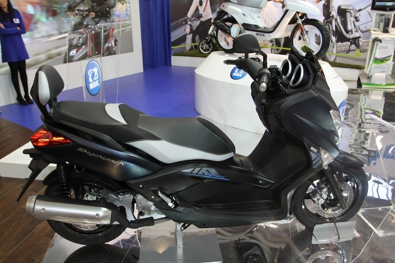 En direct du salon de la Moto 2011 : MBK Skycruiser 125 Sport Factory