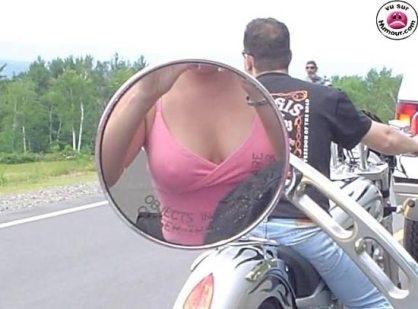 Photo du jour : rétro motard