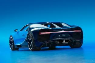 Bugatti dévoile la Chiron