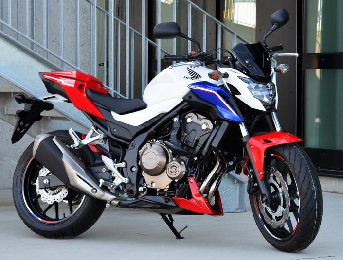 Top-Block: du thermoplastique pour la Honda CB 500F