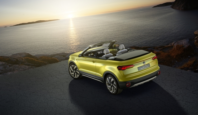 Volkswagen dévoile le concept T-Cross Breeze