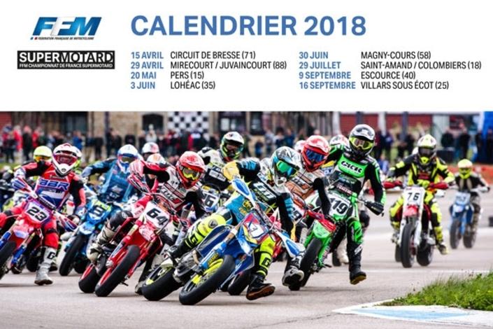 La saison Supermotard 2018: les dates, les lieux