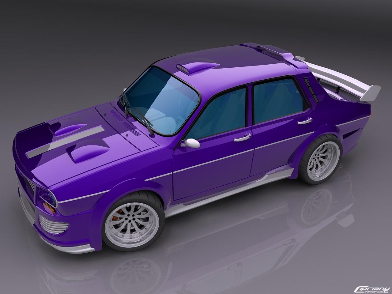 Design : Dacia 1300/1310 tuning ou le retour de la 12 Gordini