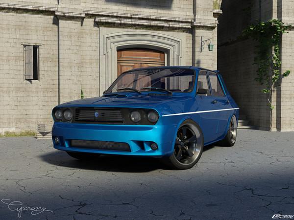 Design Dacia 1300 1310 tuning ou le retour de la 12 Gordini