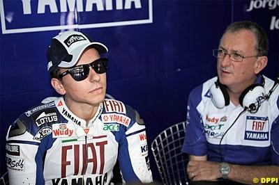 Moto GP - Yamaha: Lorenzo n'a fait que se dégourdir
