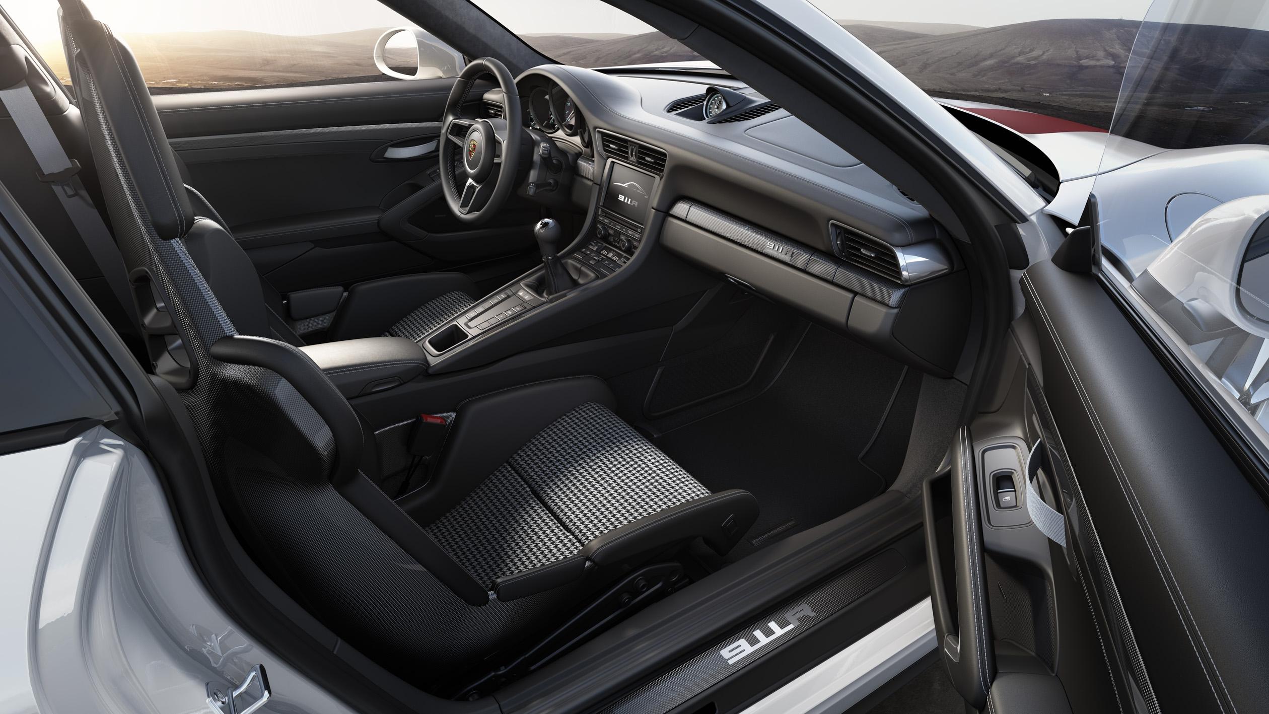 porsche d voile la 911 r. Black Bedroom Furniture Sets. Home Design Ideas