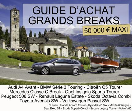 Guide d'achat : grands breaks (moins de 50 000 €)