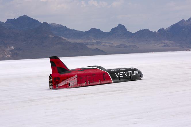 Venturi - Une tentative de record de vitesse malmenée par les conditions climatiques