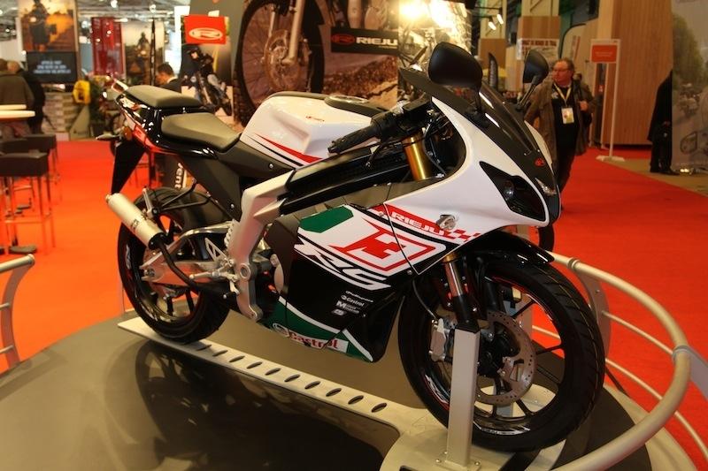 En direct du Salon de la moto 2011 : Rieju RS3 Pro 50 cm3