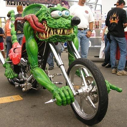 Photo du jour : rat's bike