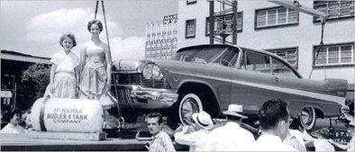 Où trouver une Plymouth Belvèdère 1957 comme neuve ? sous terre à Tulsa !