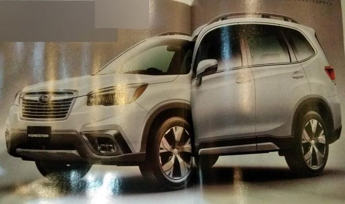 Subaru : le nouveau Forester en fuite