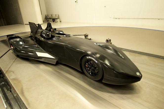 Voici la coqueluche des 24 Heures du Mans 2012, la Nissan DeltaWing
