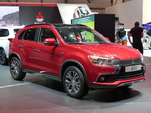 Mitsubishi ASX 2017 : a minima - Vidéo en direct du salon de Genève
