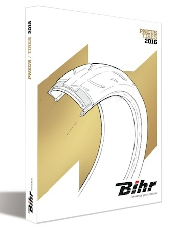 Le nouveau catalogue de pneumatiques 2016 made in Bihr arrive