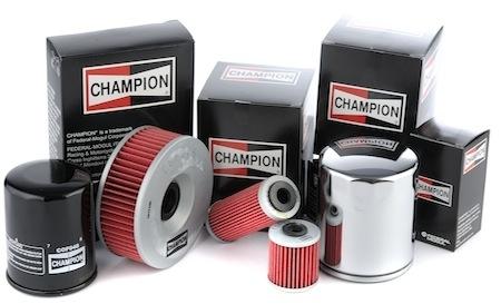Les filtres Champion distribués par SEMC