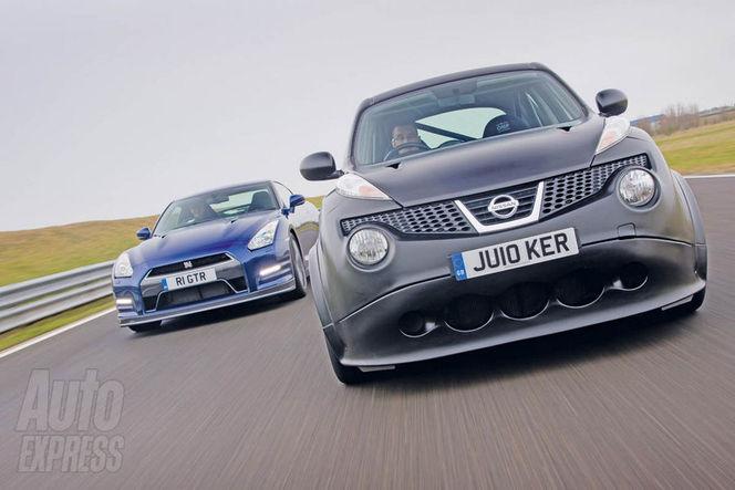 [vidéo] Nissan Juke R vs Nissan GT-R : la donneuse se mesure à la bête