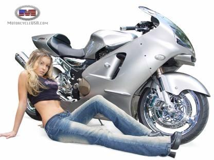Moto & Sexy : la belle et la bête